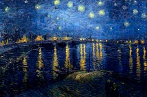 Starry Night Over the Rhone-VanGogh