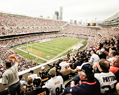 fans at Chicago's Soldier Field