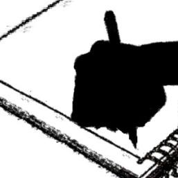 a hand writing_F